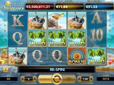 Mega Fortune Dreams fruit machine online