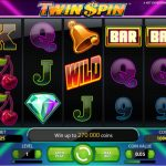 Twin SPin fruit machine screenshot